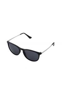 feb095f5f Slnečné okuliare - čierny rám strieborné sklá - Indishop.sk