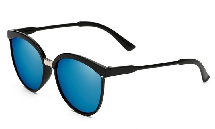1ee3f0b22 Slnečné okuliare - čierny rám modré sklá - Indishop.sk