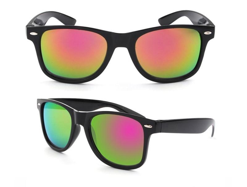 0d15c239d Slnečné okuliare - čierny rám farebné sklá - Indishop.sk